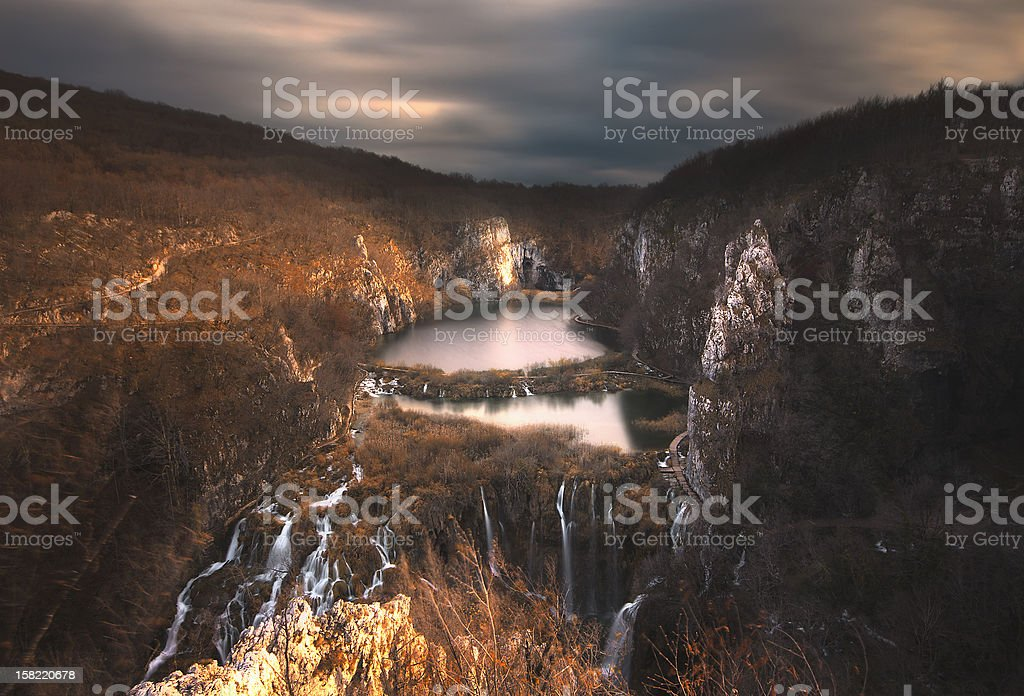 Lagos de Plitvice foto royalty-free