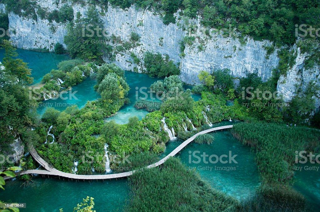 Plitvice Lakes stock photo