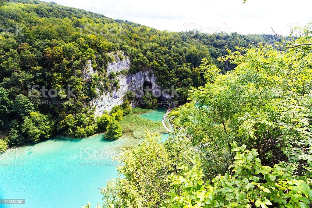 Plitvice Lakes royalty-free stock photo