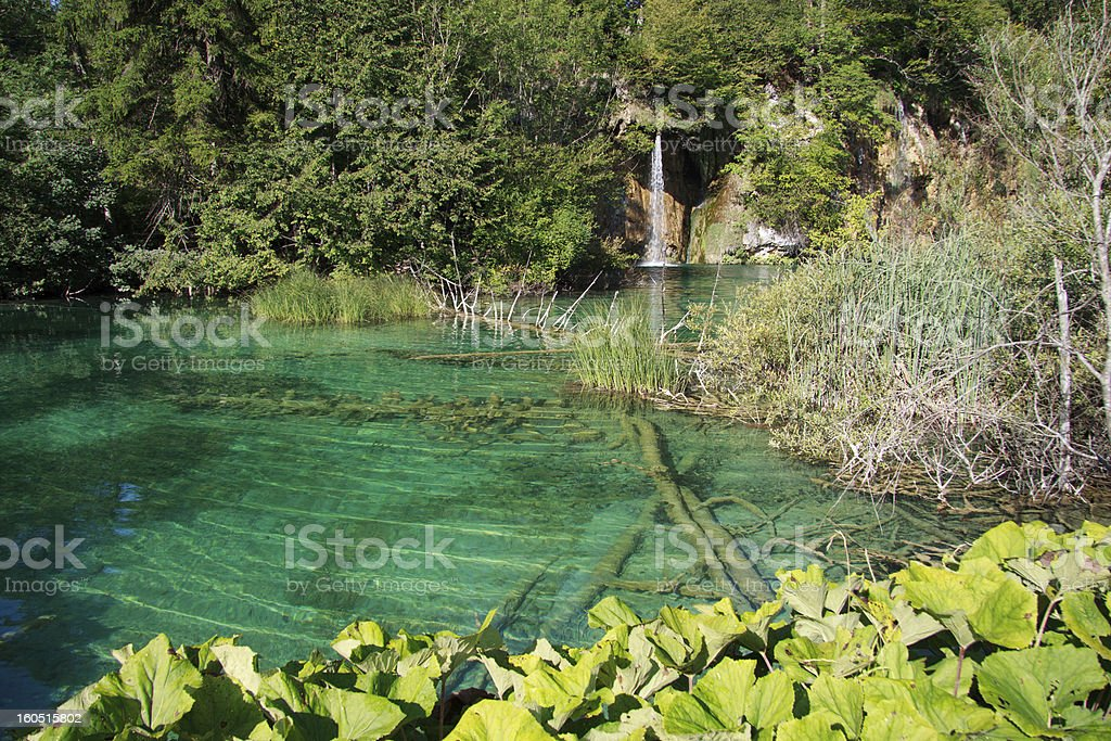 Plitvice National Park royalty-free stock photo