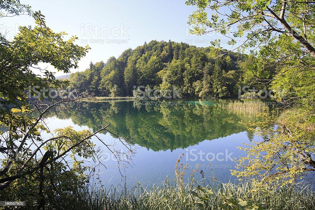 Plitvice National Park royalty-free stock photo