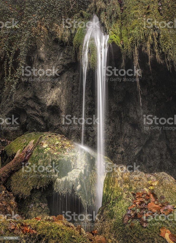 Cachoeira de Plitvice foto royalty-free