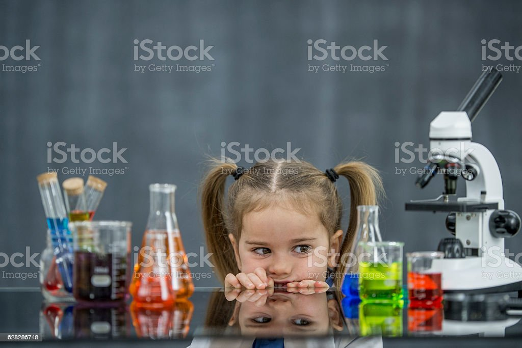 Plotting the Next Experiment stock photo