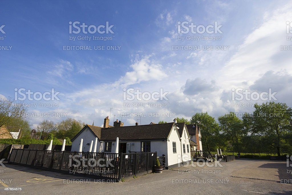 Plough Inn in Eynsford, England stock photo