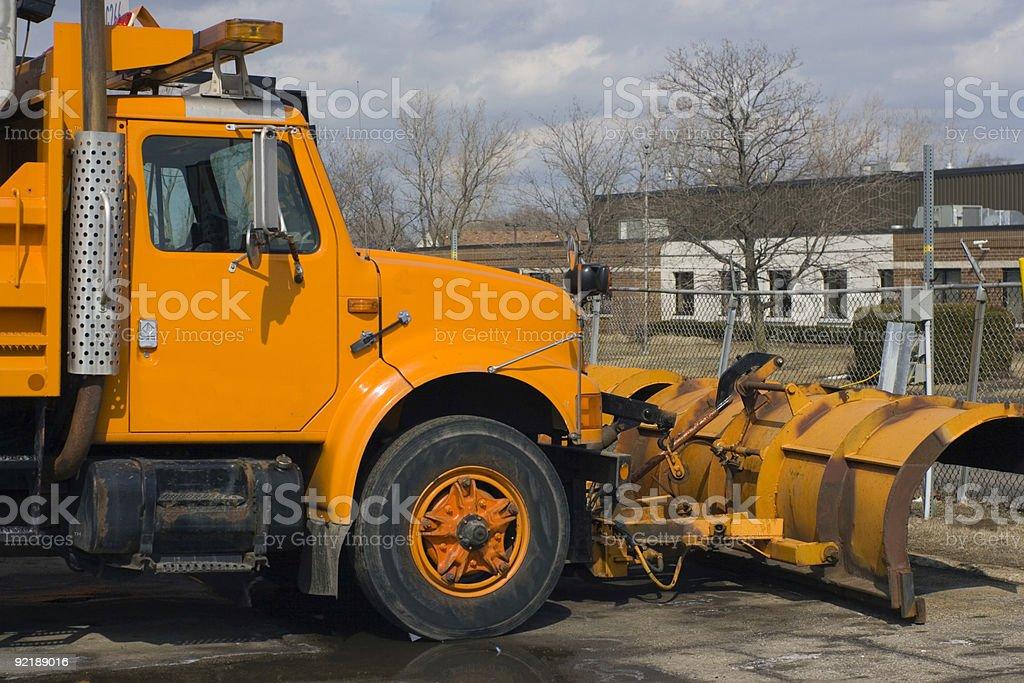 Plow Truck stock photo