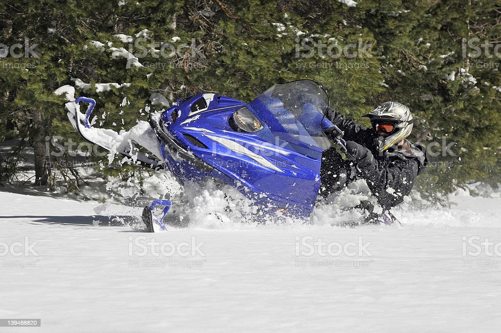 plowing snow royalty-free stock photo