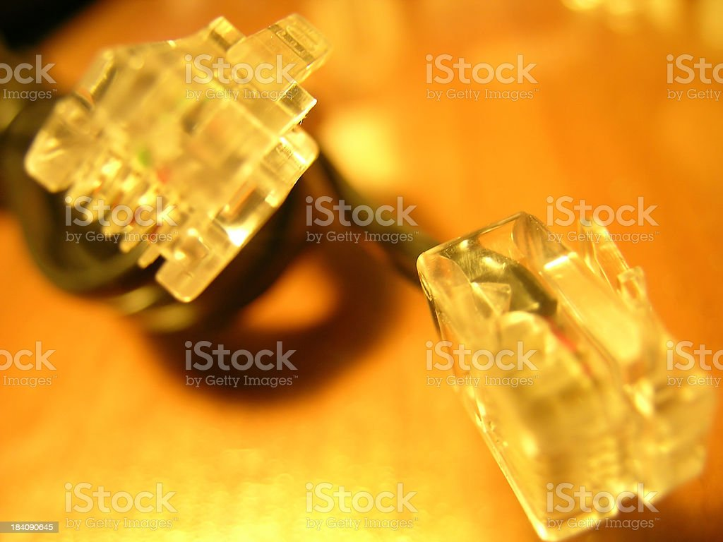 Plug me in royalty-free stock photo