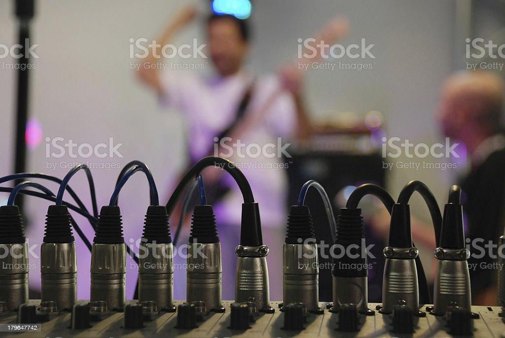 plug music royalty-free stock photo