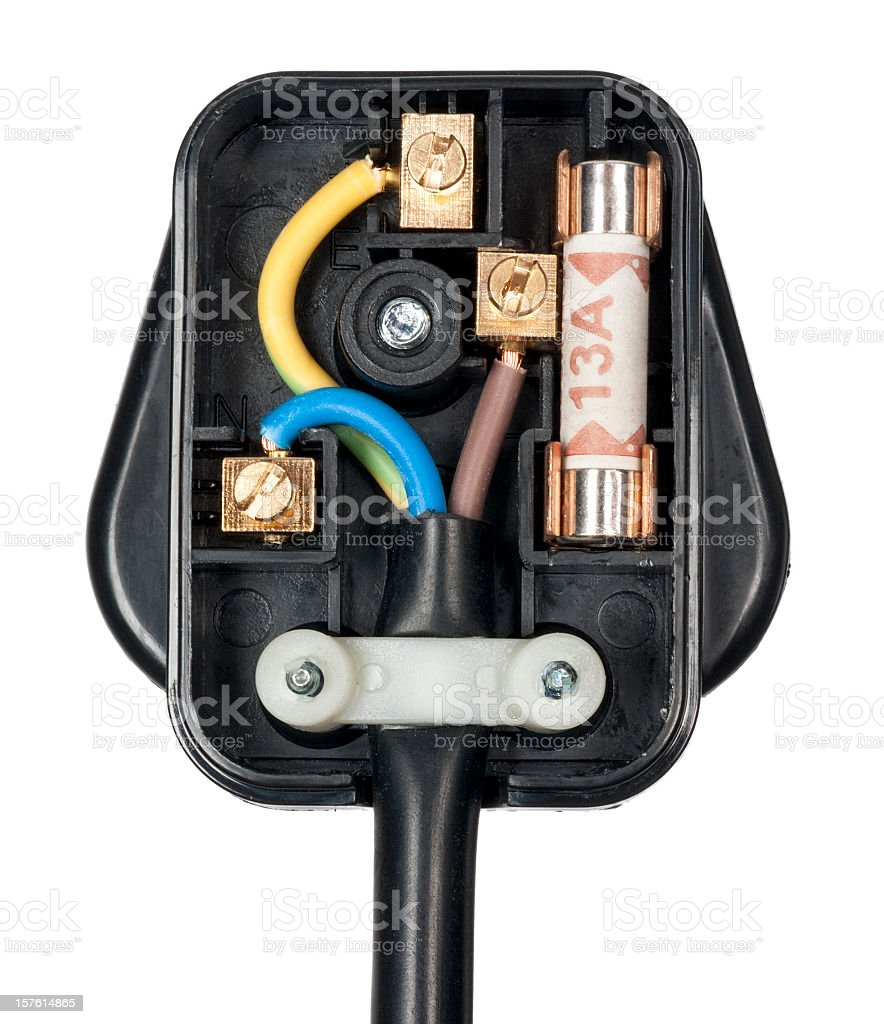 UK Plug royalty-free stock photo