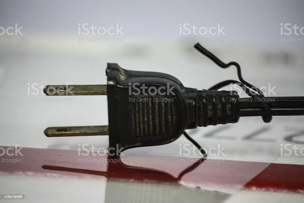 plug royalty-free stock photo