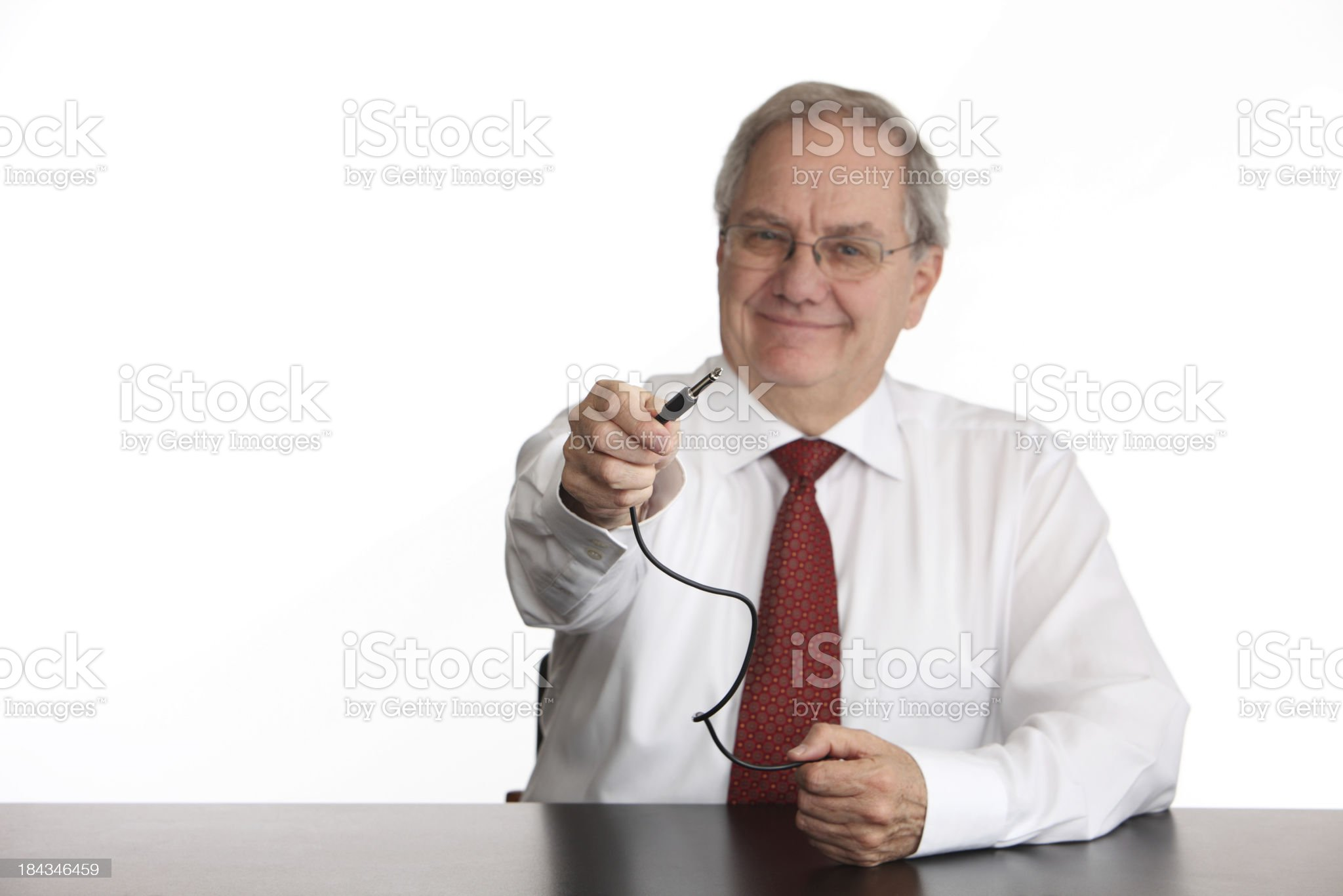 Plug This In royalty-free stock photo