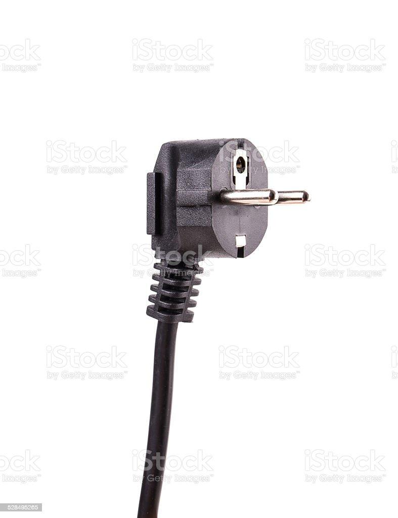 plug wire stock photo