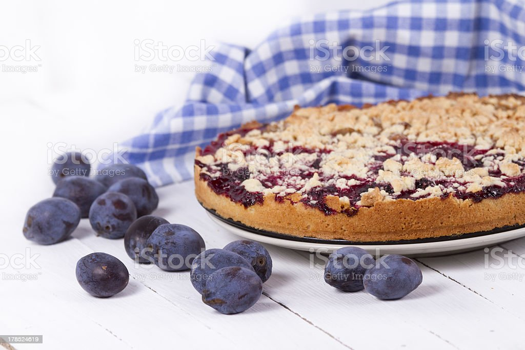 plum cake royalty-free stock photo