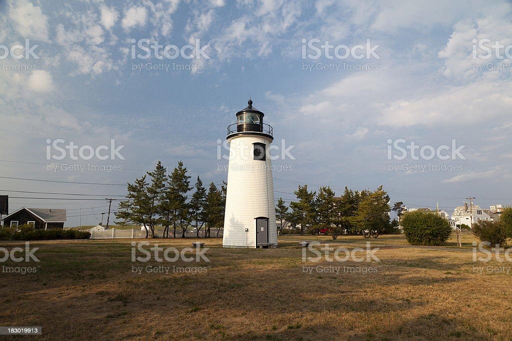 Plum Island Lighthouse (MA) stock photo