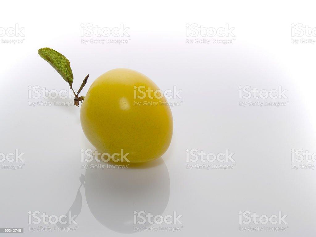 plum royalty-free stock photo
