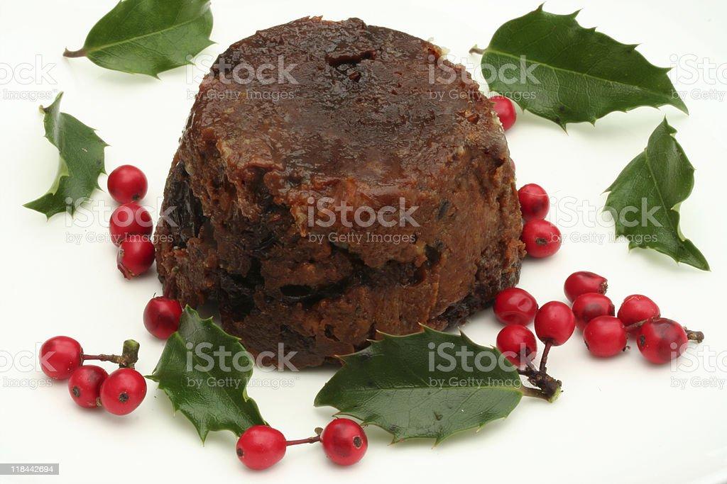 Plum pudding royalty-free stock photo