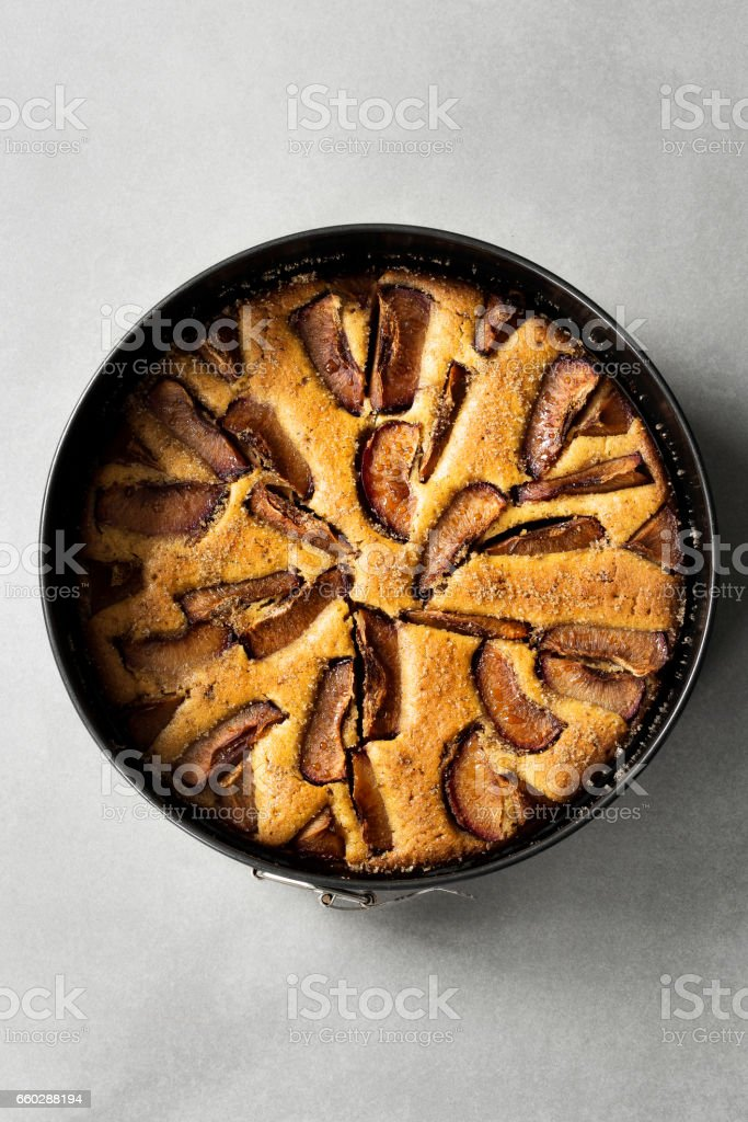 Plum tart,food,cake,tart stock photo