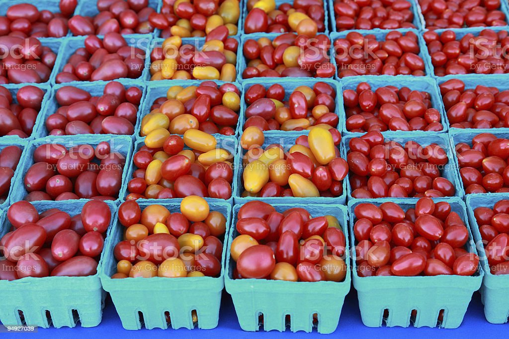 Plum Tomatoes royalty-free stock photo