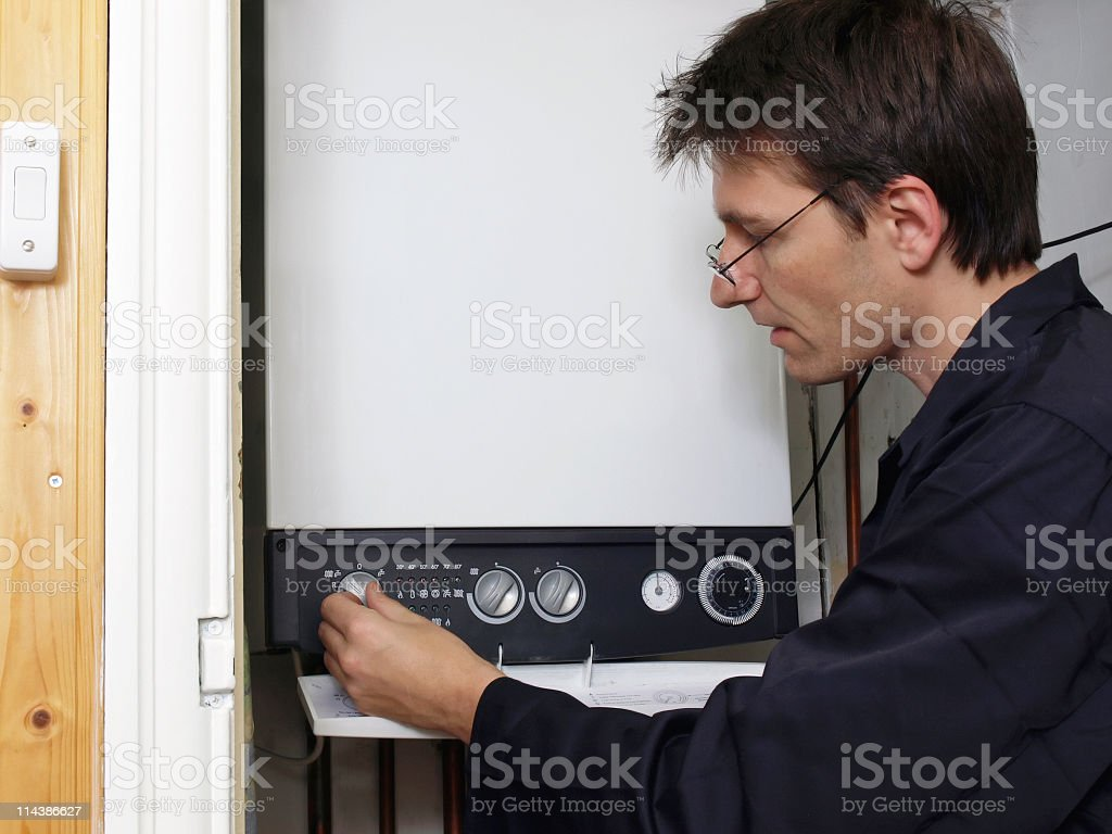 Plumber royalty-free stock photo