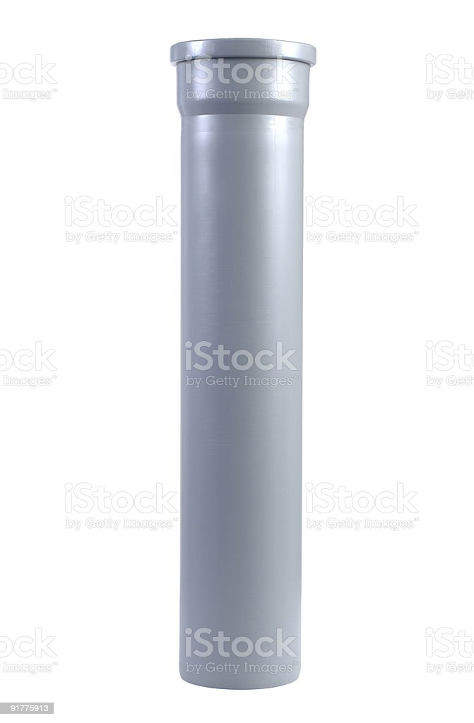 Plumber tube stock photo