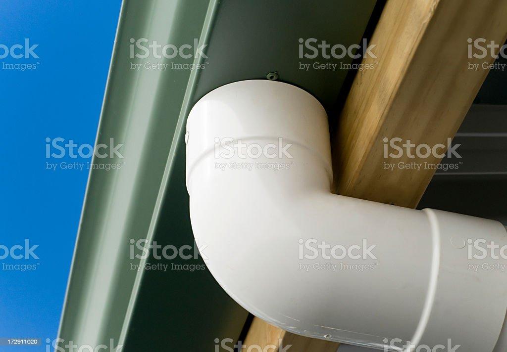 Plumbing Detail royalty-free stock photo