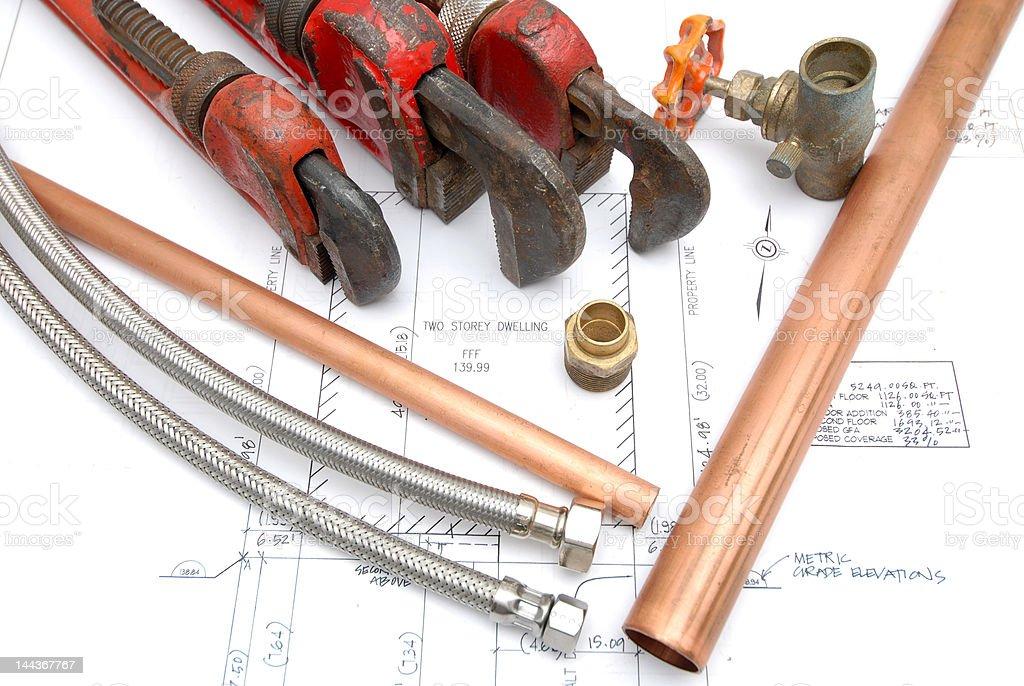plumbing stock photo