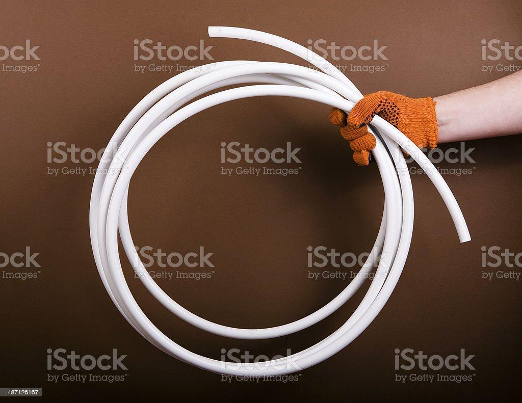 plumbing pipe royalty-free stock photo