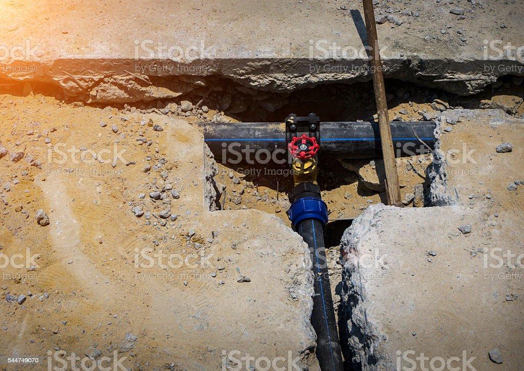 Plumbing Repair stock photo