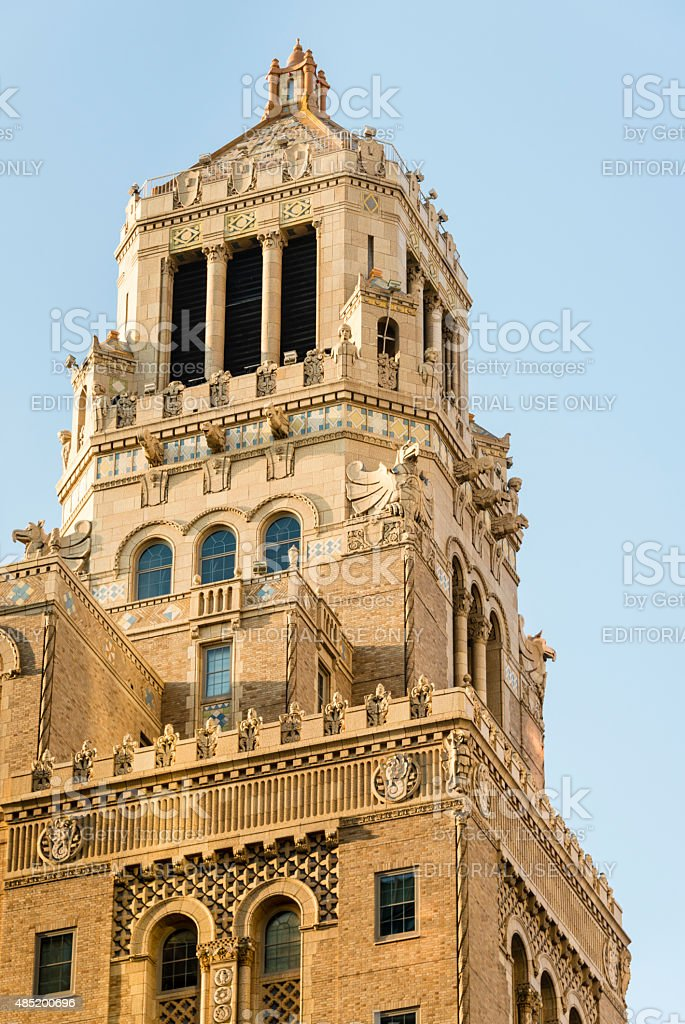 XXXL: Plummer Building of the Mayo Clinic in Rochester, MN stock photo