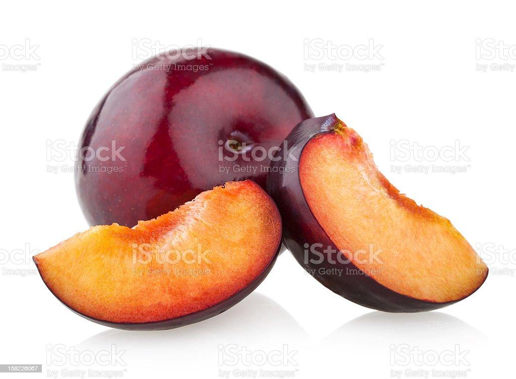 plums stock photo