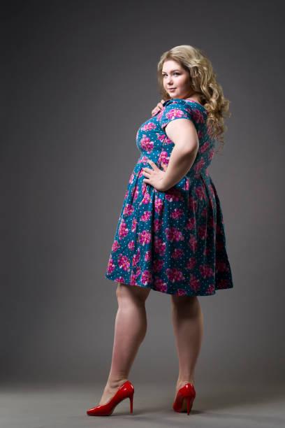 heels Fat girls in