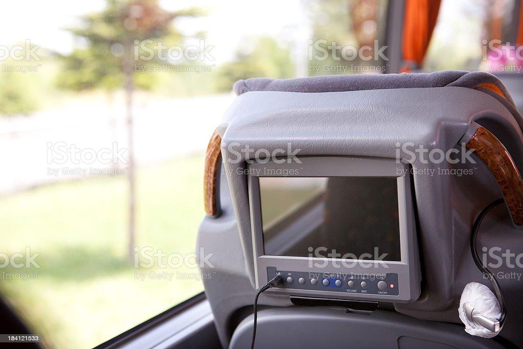 Plush Bus Travel royalty-free stock photo