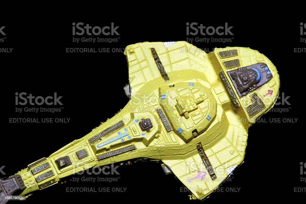 Plying the Spacelanes royalty-free stock photo