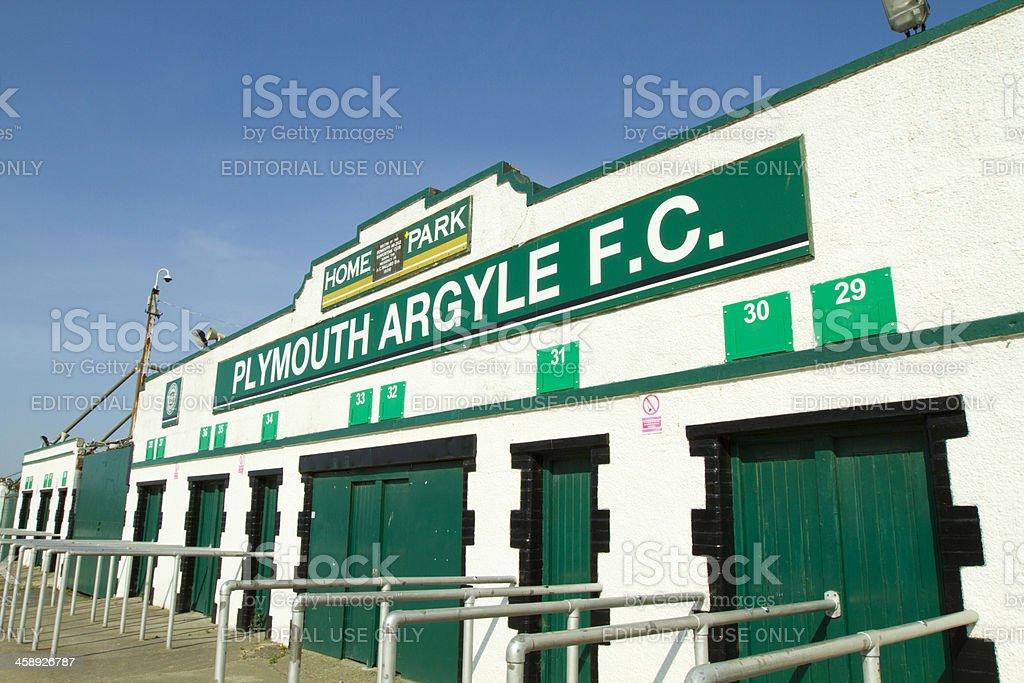 Plymouth Argyle Football Club royalty-free stock photo
