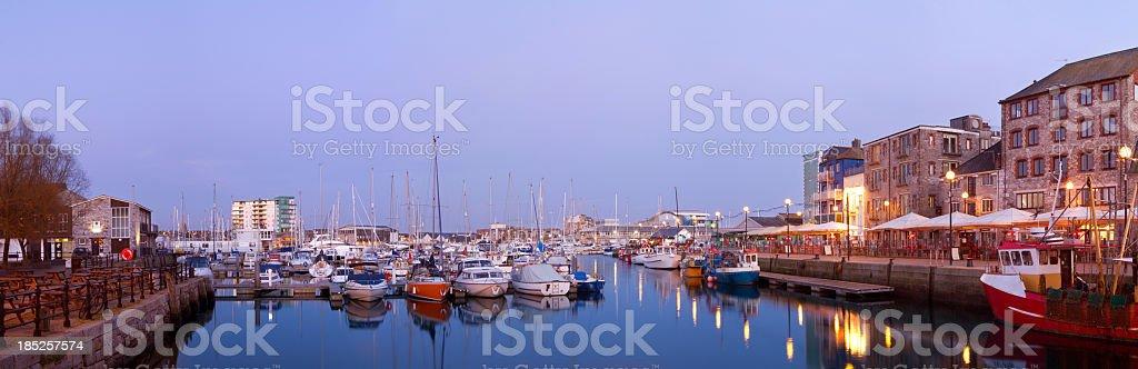 Plymouth Barbican stock photo