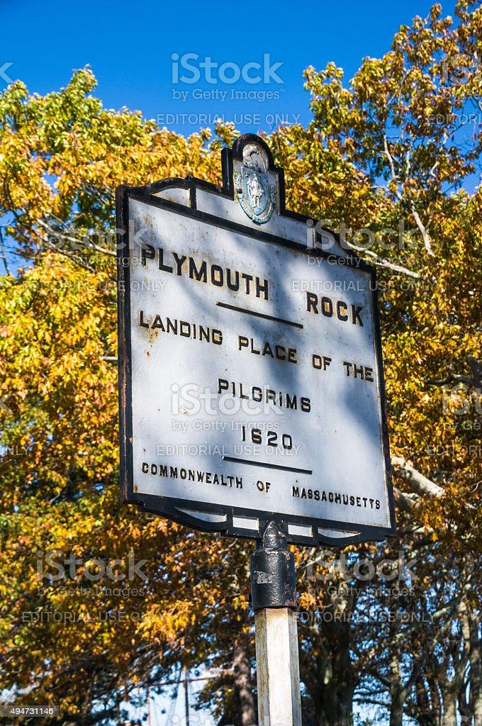 Plymouth Landmark stock photo