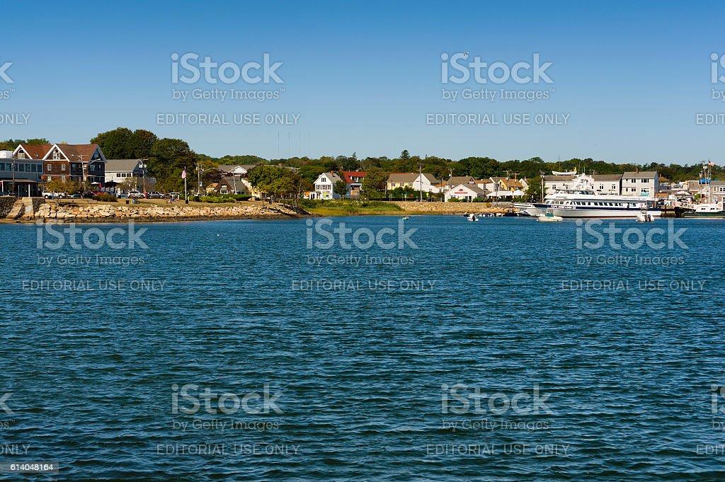 Plymouth Massachusetts Cape Cod stock photo
