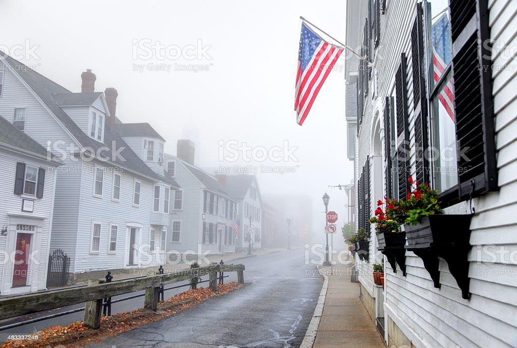 Plymouth Massachusetts stock photo