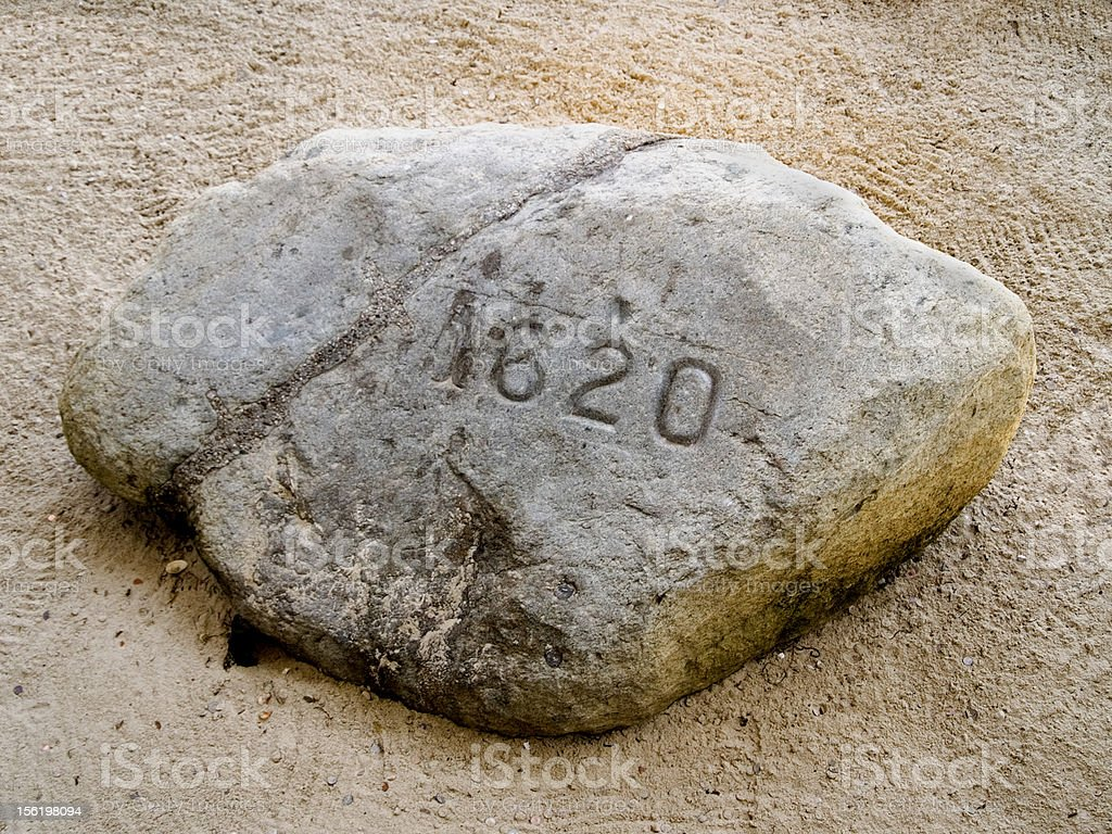 Plymouth Rock royalty-free stock photo