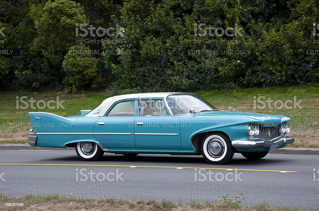 Plymouth Savoy from 1960 royalty-free stock photo