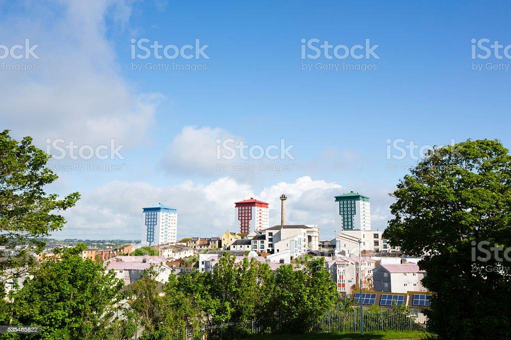 Plymouth Skyline stock photo
