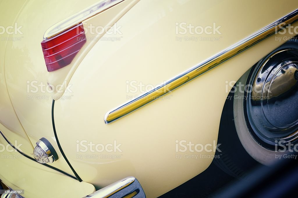 Plymouth Special Deluxe Convertible royalty-free stock photo