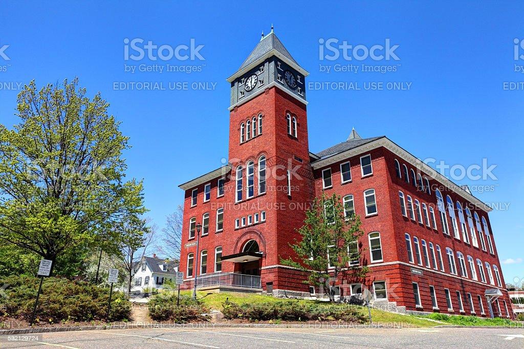 Plymouth State University stock photo