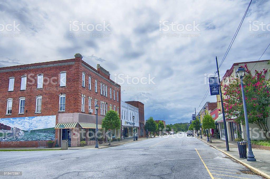 plymouth town north carolina street scenes stock photo