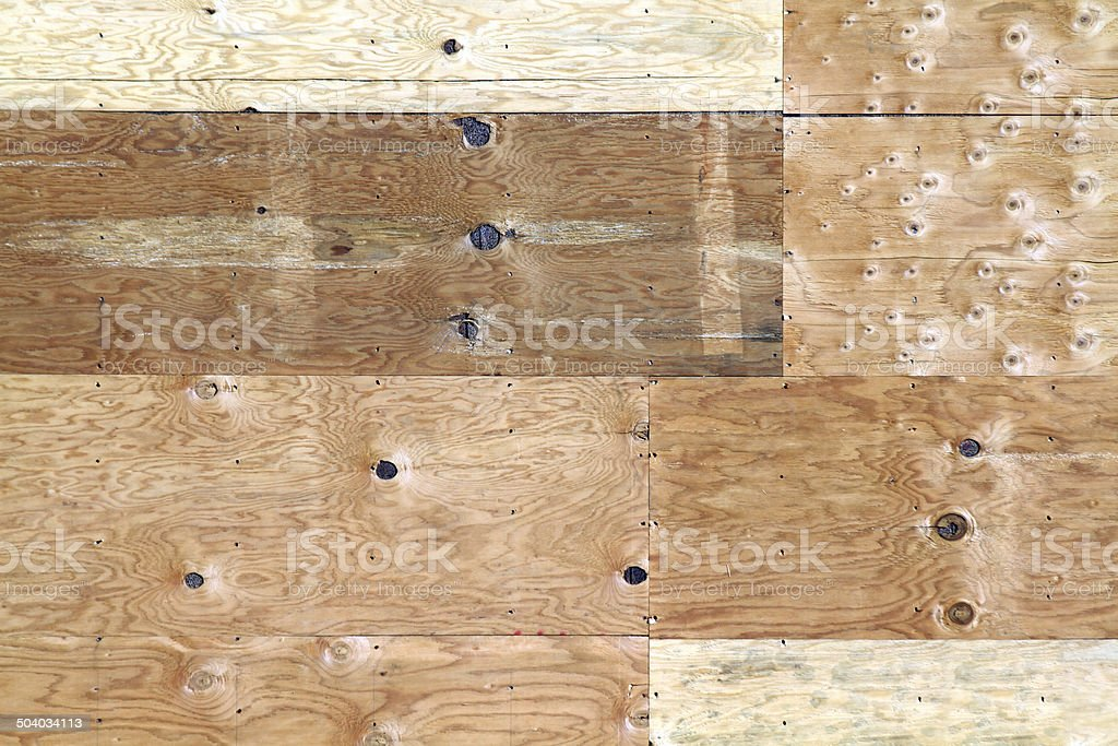 Plywood construction background royalty-free stock photo