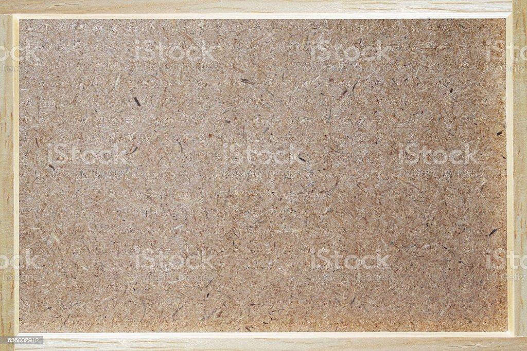 Plywood, hardboard, oriented strand board (OSB) texture backgrou stock photo