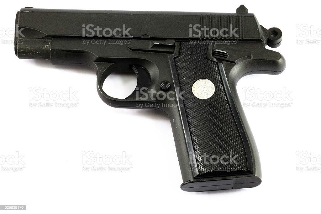 pneumatic gun stock photo