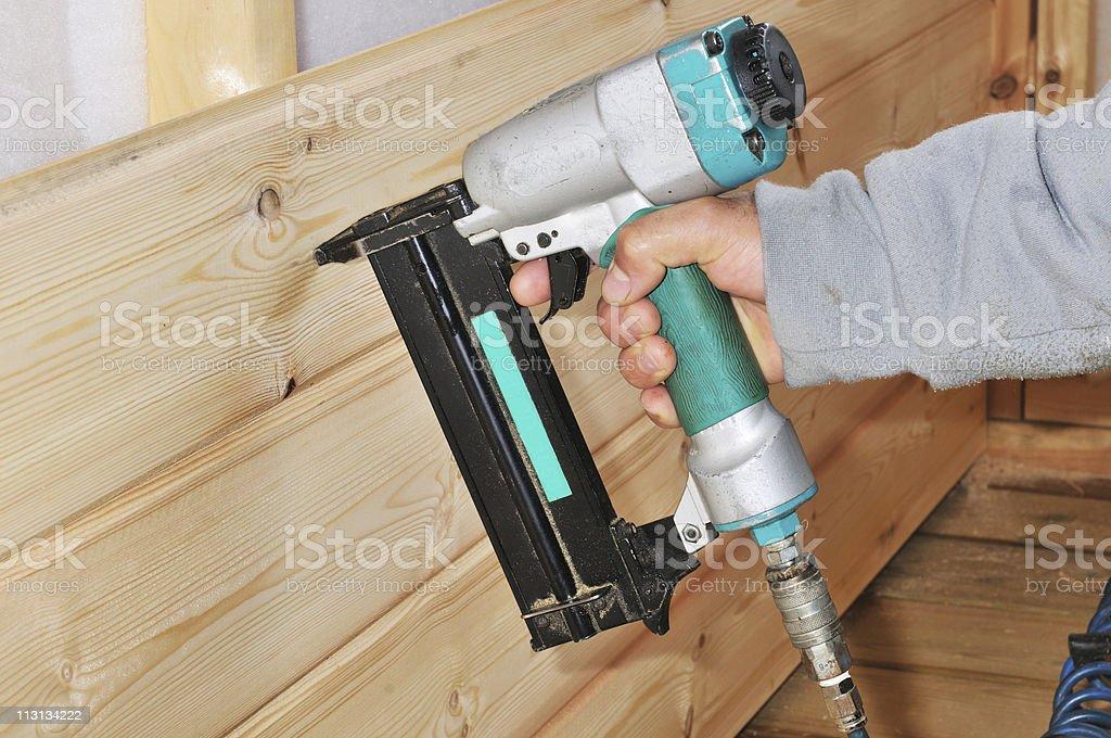 Pneumatic hammer stock photo