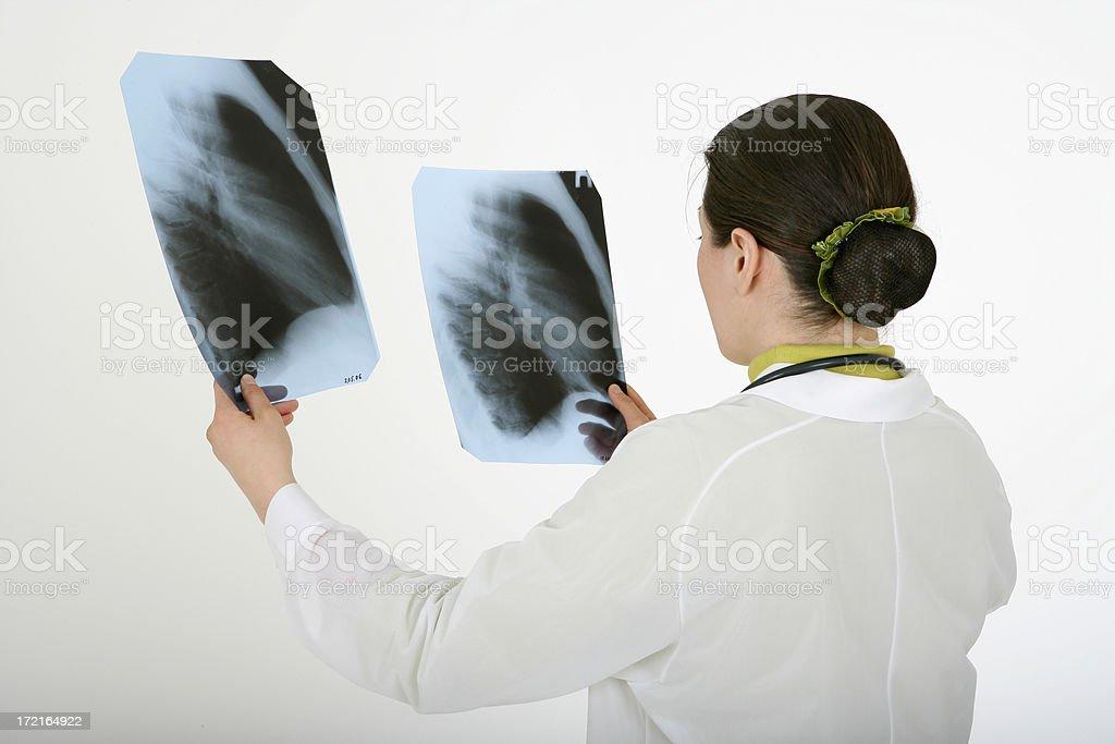 Pneumonia diagnosis stock photo
