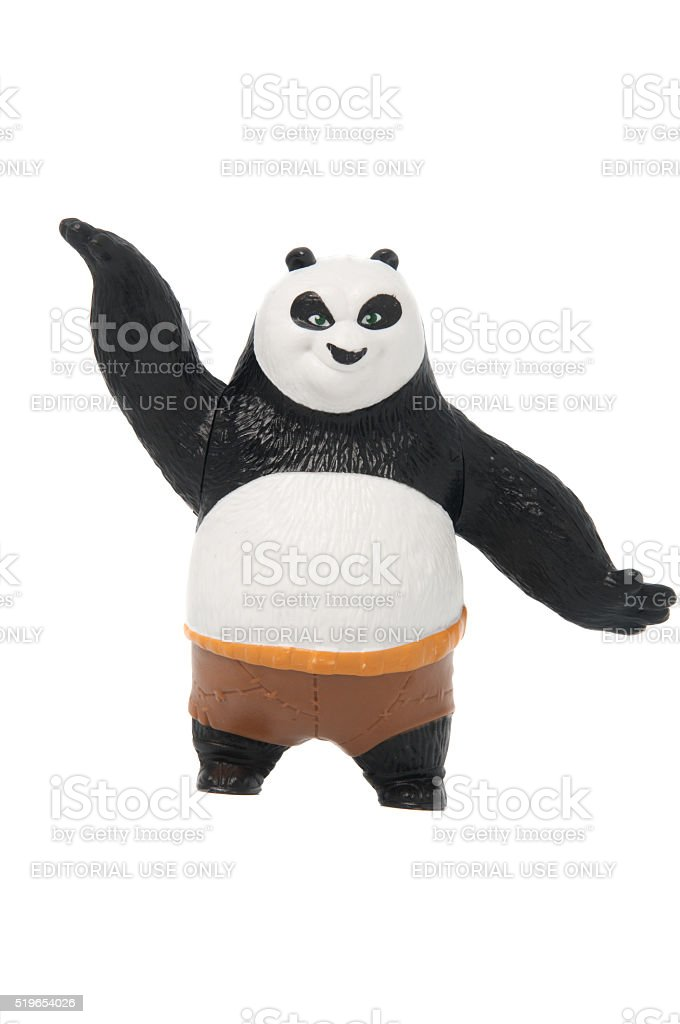 Po 2011 Happy Meal Toy stock photo
